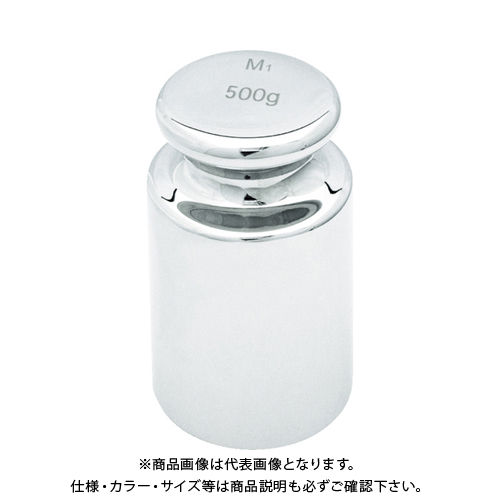 TRUSCO OIML型 円筒分銅M1級 500g MLCM-500G