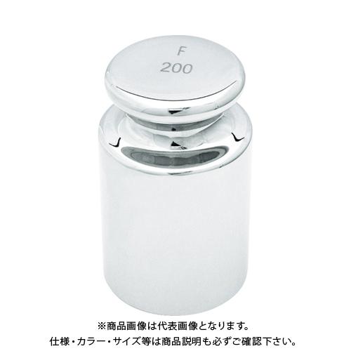TRUSCO OIML 円筒分銅F2級 200g MLCF-200G
