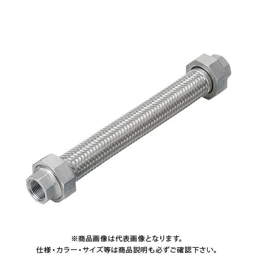 NFK ユニオン無溶接式フレキ ALLSUS304 25A×1000L NK113-25-1000