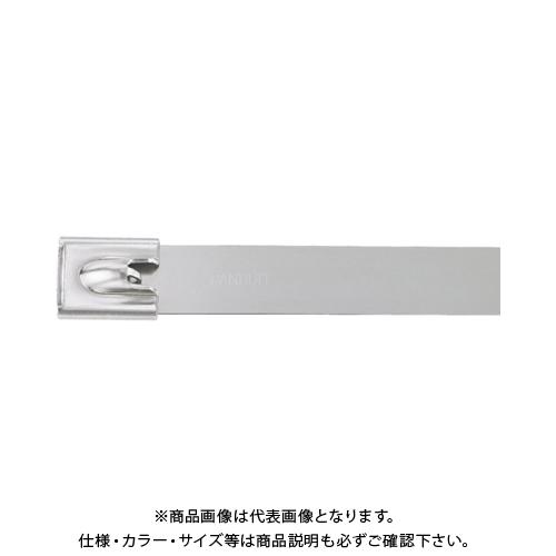 パンドウイット MLTタイプ 自動ロック式ステンレススチールバンド SUS316 幅15.9mm 長さ912mm 50本入り MLT10SH-LP316 MLT10SH-LP316