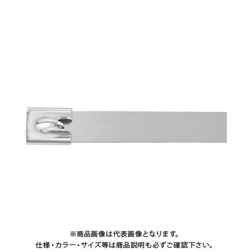 パンドウイット MLTタイプ 自動ロック式ステンレススチールバンド SUS304 幅12.7mm 長さ594mm 50本入り MLT6EH15-LP MLT6EH15-LP