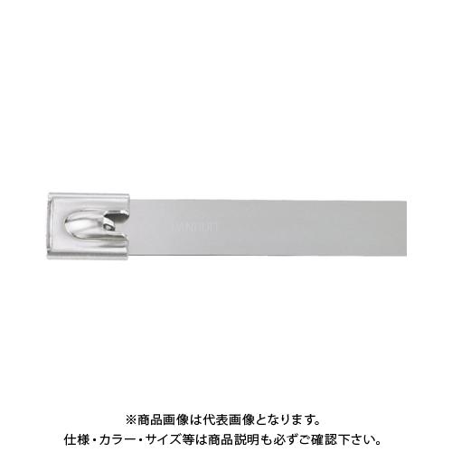 パンドウイット MLTタイプ 自動ロック式ステンレススチールバンド SUS316 幅6.4mm 長さ521mm 50本入り MLT6LH-LP316 MLT6LH-LP316