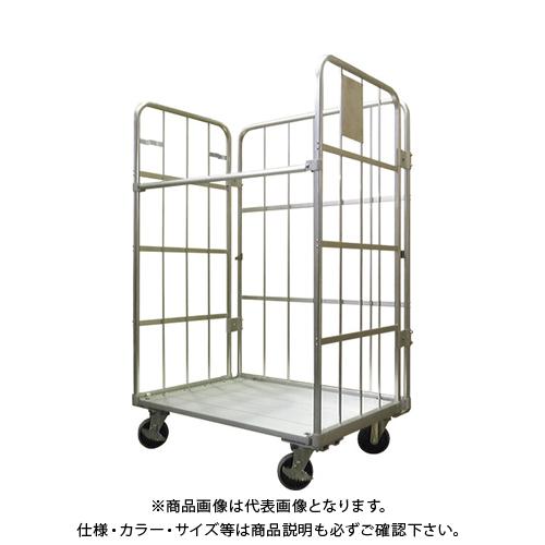 【直送品】ヤマト L型ロールコンビテナー(アルミ製・ LRC50-AL