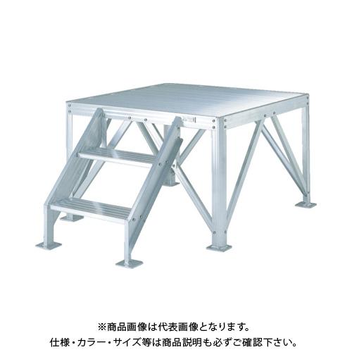 【運賃見積り】【直送品】ピカ 朝礼台 MG型 MG-2B
