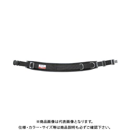 マーベル 柱上安全帯用ベルト(ワンタッチバックルタイプ)Lサイズ 黒 MAT-180WBL