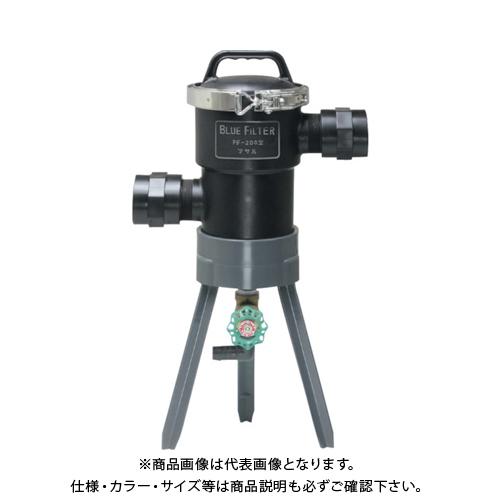 マサル ブルーフィルター PF-200型 低圧用 40φ 120メッシュ M4306