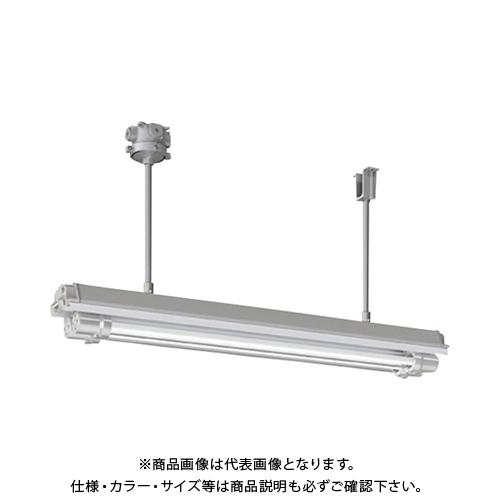 【運賃見積り】【直送品】岩崎 防爆形直管LED照明器具32×2定格出力形相当パイプ吊形 電線管径φ22 EXILF2421BSA9N-22