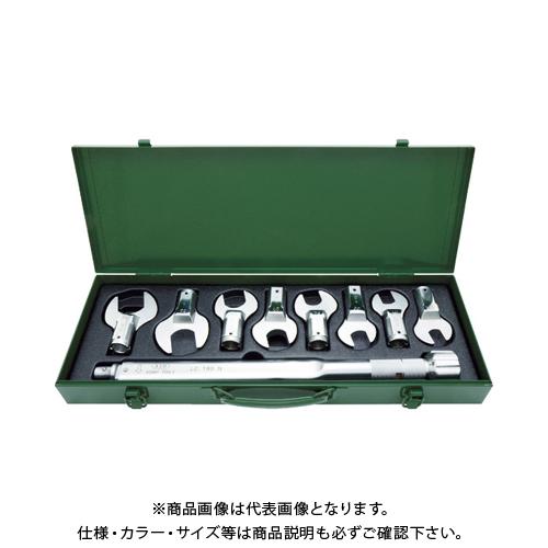 【運賃見積り】【直送品】ASH トルクレンチスパナヘッドセットLC180N+17-36mm LCS4000