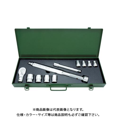 【運賃見積り】【直送品】ASH トルクレンチソケットセットLC090N+12-27mm LCV3000