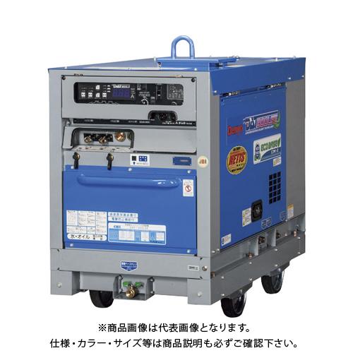 【直送品】デンヨー 防音型ディーゼルエンジン溶接機 DAT-300LSE
