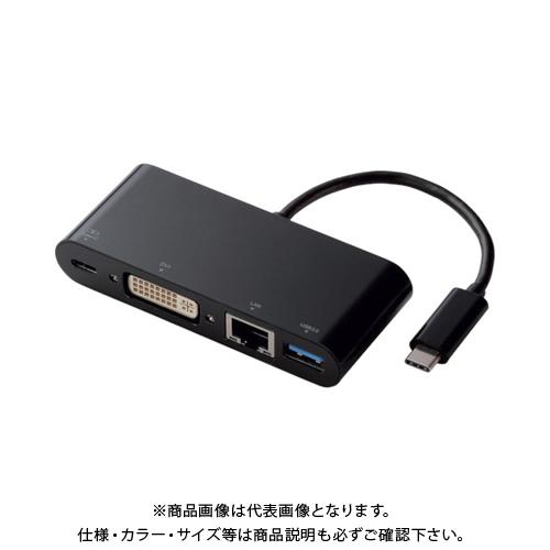 エレコム エレコム USB Type-C接続ドッキングステーション(PD対応) ブラック DST-C04BK