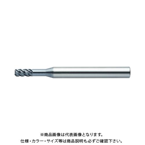 ユニオンツール ロングネックラジアス外径4×CR0.5×有効長16×刃長8 CXLRS5040-05-16