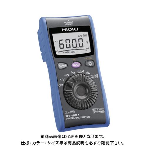 HIOKI デジタルマルチメータ DT4221 書類3点付 DT4221SYORUI3TENTUKI