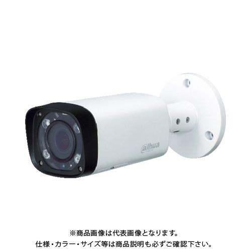 【運賃見積り】【直送品】Dahua 200万画素 IP 赤外線付防水バレット型カメラ 213×90.4×90.4 ホワイト DH-IPC-HFW2221RN-ZS-IRE6