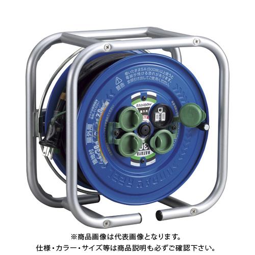 ハタヤ 段積みリールケーブルタイプ 標準型 接地付 DSG-30K