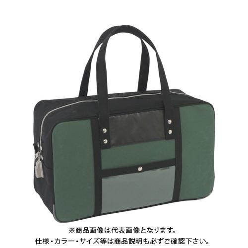 SANEI 帆布メール用ボストン(L)SED-1錠付 モスグリーン BTL-SED-07