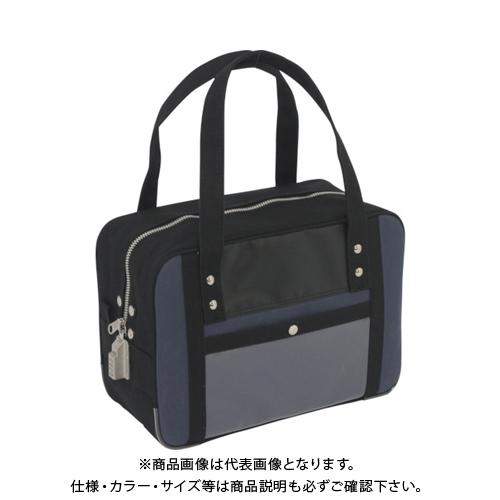 SANEI 帆布メール用ボストン(S)SED-1錠付 紺 BTS-SED-03