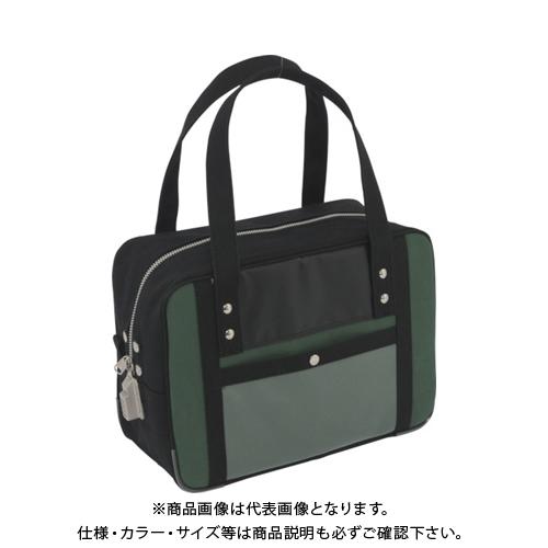 SANEI 帆布メール用ボストン(S)SED-1錠付 モスグリーン BTS-SED-07