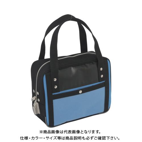 SANEI 帆布メール用ボストン(SS)SED-1錠付 ブルー BTSS-SED-09