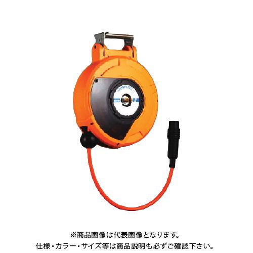 ハタヤ コードマック2 単相100V 10m 接地付 四ツ口コンセント CDS2-101QK