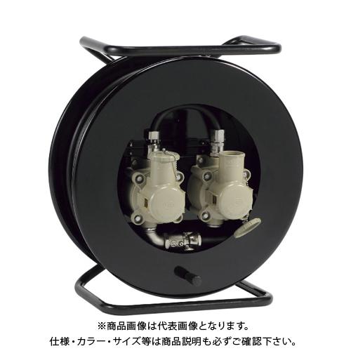 OKS 防爆型ダブルコンセントリール30m コンセントプラグ(岩崎電気製) CSPFW-30W