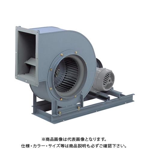 【直送品】テラル シロッコファン(多翼送風機)片吸込片持形ベルト駆動式 CLF6-NO.2-RS-DI-E-0.75