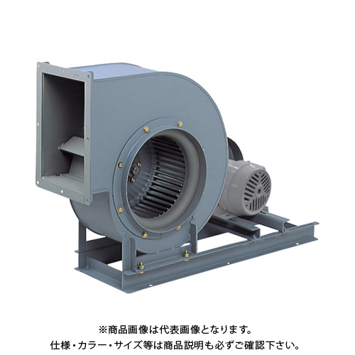 【直送品】テラル シロッコファン(多翼送風機)片吸込片持形ベルト駆動式 CLF6-NO.2.5-RS-DI-E-2.2