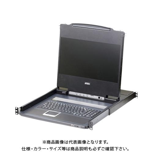 【直送品】ATEN コンソールドロワー フルHDワイド対応/LCD一体型 CL6700MWJJL