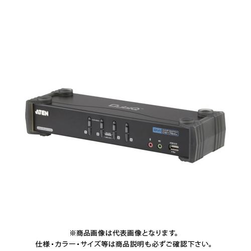 ATEN KVMPスイッチ 4ポート / DVI / デュアルリンク / USB2.0ハブ搭載 CS1784A