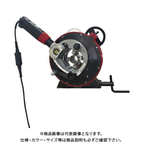 【運賃見積り】 【直送品】 アックスエアー パイプ切断機 CC122 CC122