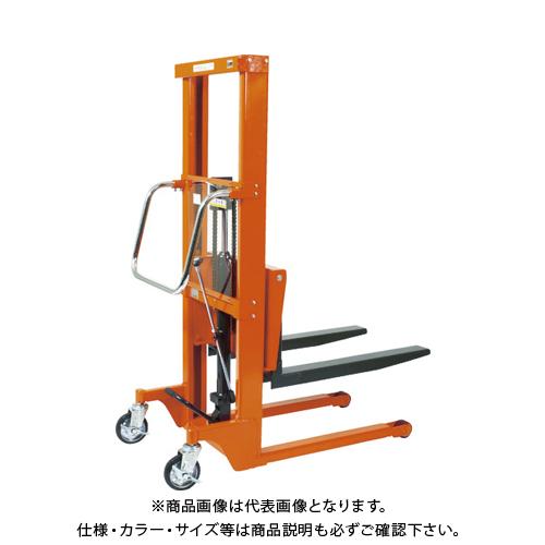 【直送品】TRUSCO コゾウリフター 600kg フォーク式 H80-900 BEA-H600-9