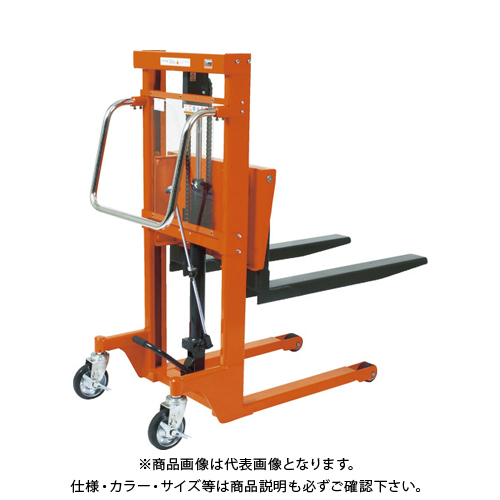 【直送品】TRUSCO コゾウリフター 150kg フォーク式 H72-900 BEA-H150-9