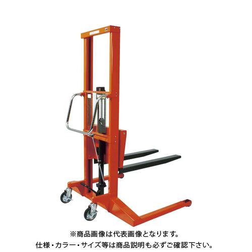 【運賃見積り】 【直送品】 TRUSCO コゾウリフター 400kg フォーク式 H80-1500 BEA-H400-15W