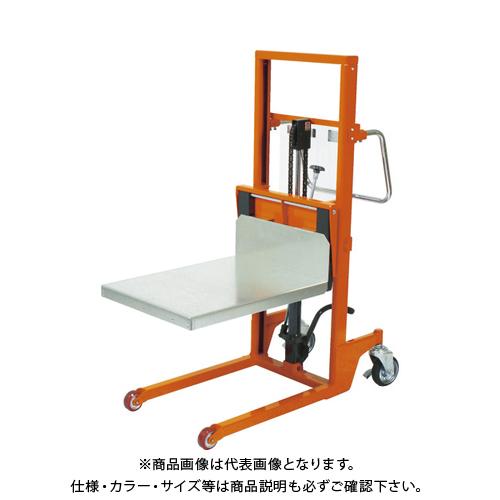【直送品】TRUSCO コゾウリフター 400kg テーブル式 H97-1203 BEA-H400-12T