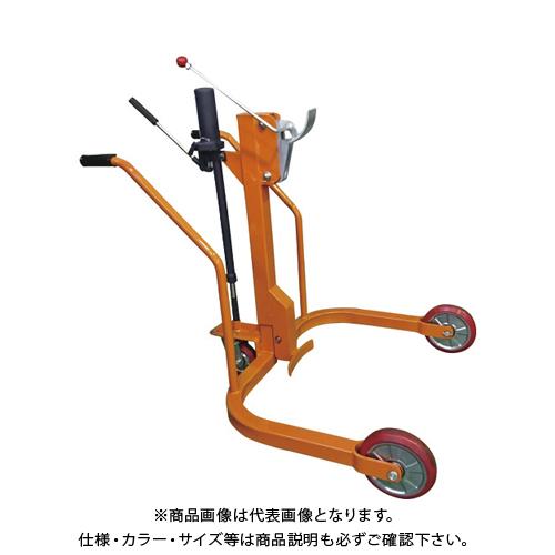 【運賃見積り】 【直送品】 KSK 軽便ドラムカー 300kg CDX300