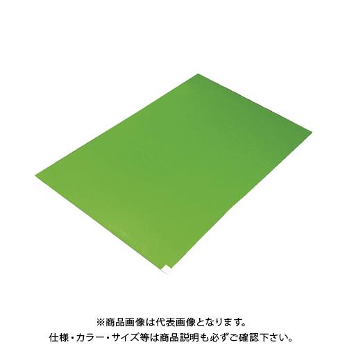 TRUSCO 粘着クリーンマット 450X900MM グリーン (10シート) CM459010-GN