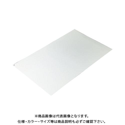 TRUSCO 粘着クリーンマット 450X900MM ホワイト (10シート) CM459010-W