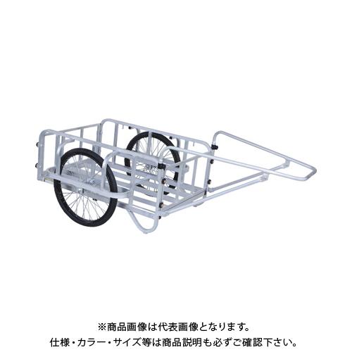 【運賃見積り】【直送品】HARAX 輪太郎 26×2-1/2Nノーパンクタイヤ 積載面1200×800 BS-3000N