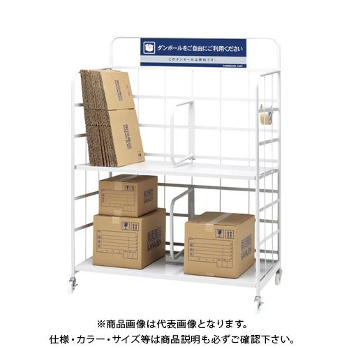【運賃見積り】 【直送品】 KAWAJUN ダンボールカート118 AA972