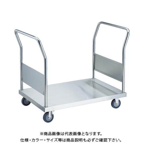 【運賃見積り】 【直送品】 TRUSCO オールステン両袖台車 900X600 Φ100DU AS-2W-100DU