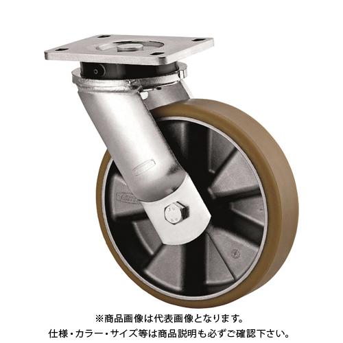 テンテキャスター 重荷重用高性能旋回キャスター(AGV用、ウレタン車輪) 9650ITP200P63 CONVEX