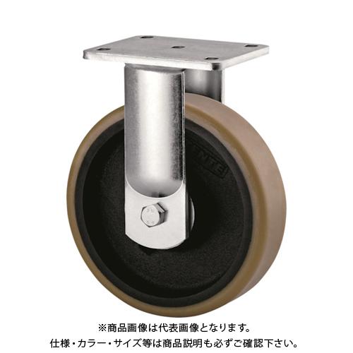 【運賃見積り】【直送品】テンテキャスター 超重荷重用キャスター(ウレタン車輪) 9688FTP200P64
