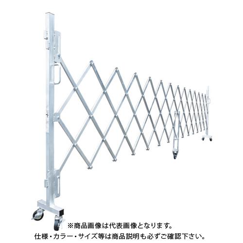【運賃見積り】【直送品】ピカ 簡易アルミキャスターゲート GTO-50