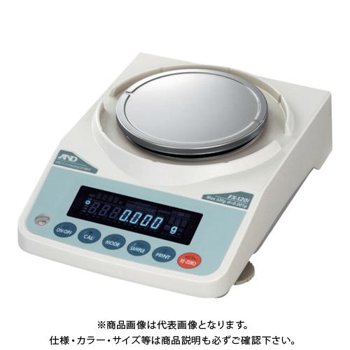 【直送品】A&D 汎用天びん FX120i JCSS校正付 FX120I-JA-00J00