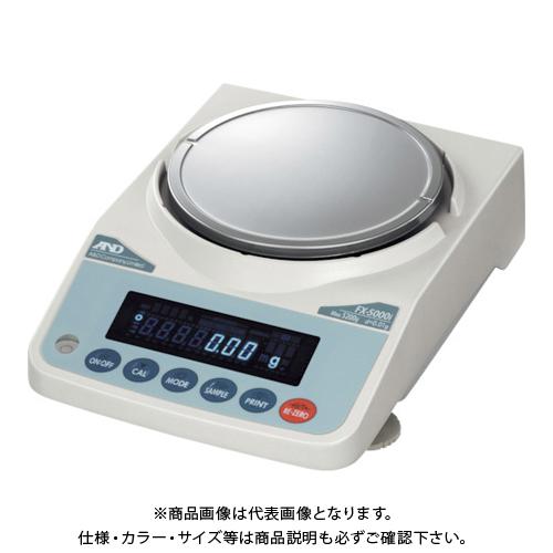 【直送品】A&D 汎用天びん FX5000i JCSS校正付 FX5000I-JA-00J00