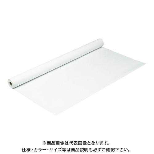 TRUSCO 防炎シートα軽量 ロールタイプ幅0.9mX長さ50.0m ホワイト GBS-900RA-W