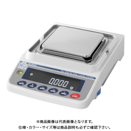 A&D 汎用電子天びん 内蔵分銅付き 220g/0.001g GX203A
