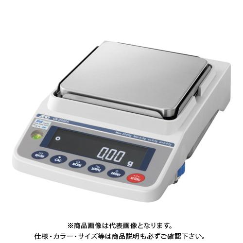 A&D 汎用電子天びん 内蔵分銅付き 2200g/0.01g GX2002A