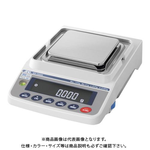 【直送品】A&D 汎用電子天びん 内蔵分銅付き 1100g/0.001g GX1003A