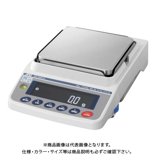 【直送品】A&D 汎用電子天びん 内蔵分銅付き 10200g/0.1g GX10001A